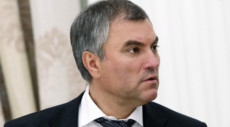 Vyacheslav Volodin, First Deputy Chief of Staff of the Presidential Executive Office, seen here prior to Russian President Vladimir Putin's meeting in the Kremlin with leaders of the parties elected to the State Duma. © Sergey Guneev