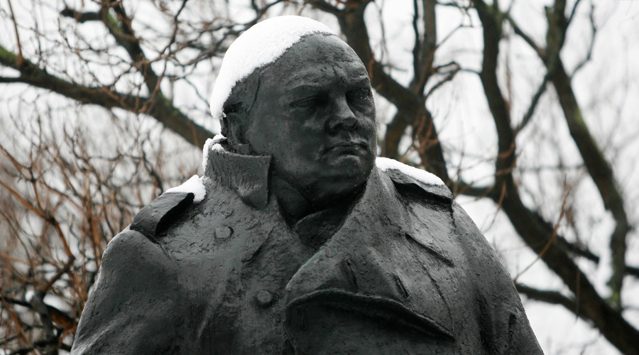 The statue of Winston Churchill © John Voos