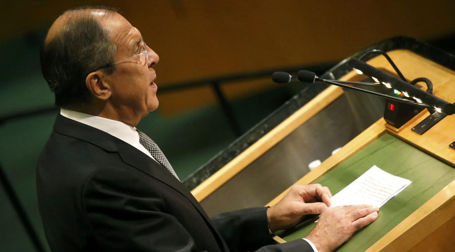 Mr. Lavrov goes to New York in another bid to defuse Syria crisis