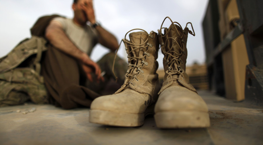 'Made in China' US military boots a boon for Donald Trump
