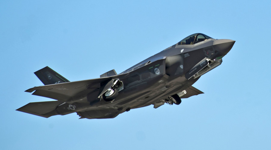 Cracks in the armor? Another F-35 fighter jet catches fire in US