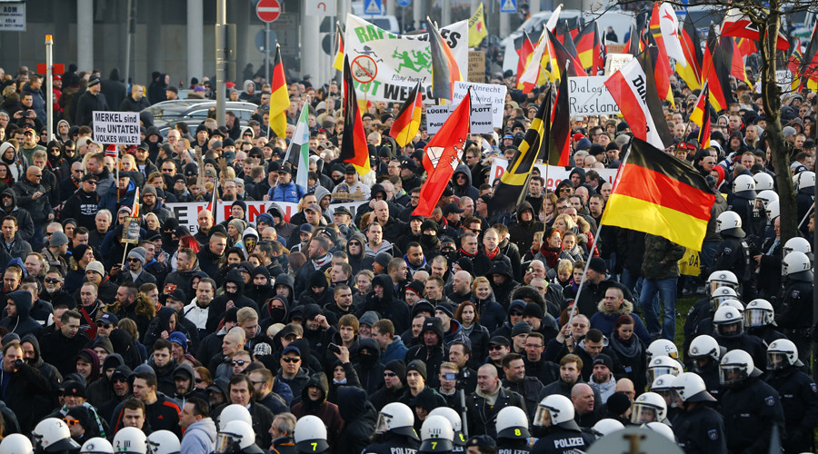 'German government's witch hunt against own population' – anti-immigrant AfD member