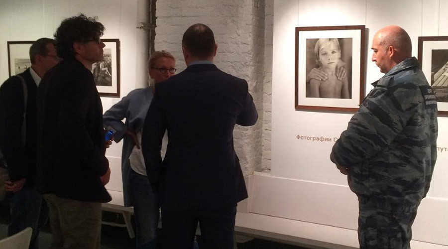 'Child pornography': US photographer's exhibition in Moscow closes after controversy, protests