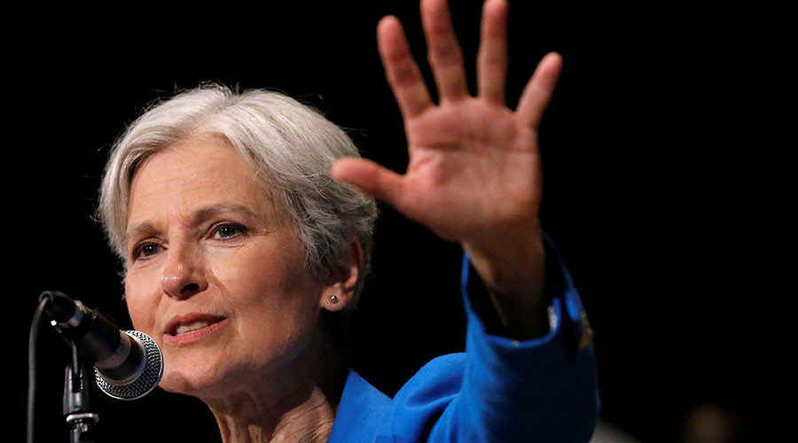 Jill Stein escorted by police away from Clinton-Trump, plans debate fightback via livestream Q&A