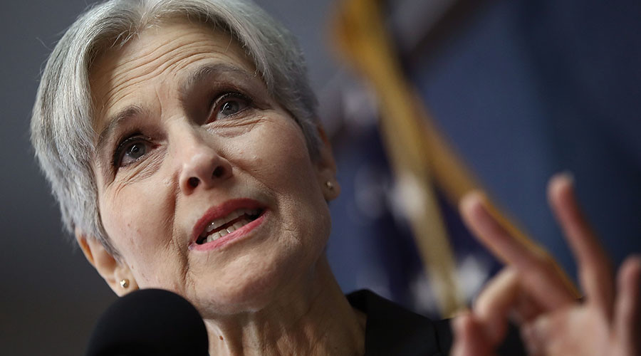 Green Party presidential nominee Jill Stein. © Win McNamee / Getty Images