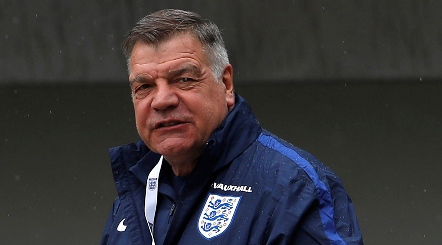 England manager Sam Allardyce. © Lee Smith