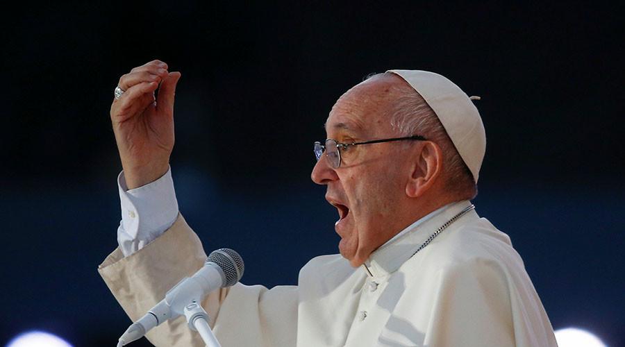 Pope Francis. ©Stefano Rellandini