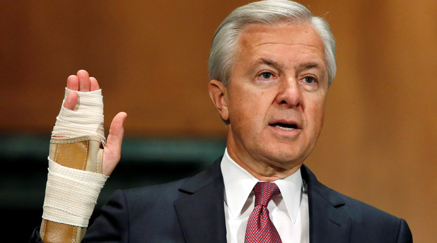Wells Fargo CEO to forfeit $41mn over bogus accounts investigation