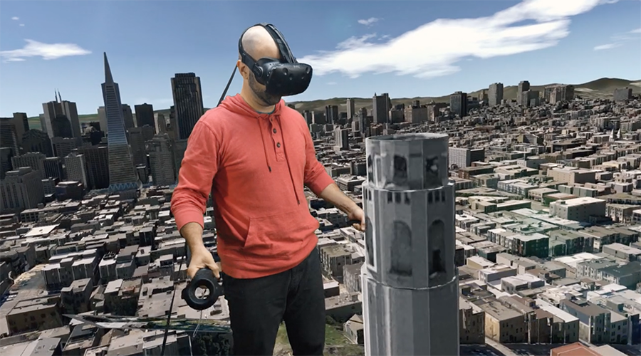 Like a giant: Teleport & trample through US cities with VR headset game (VIDEO)