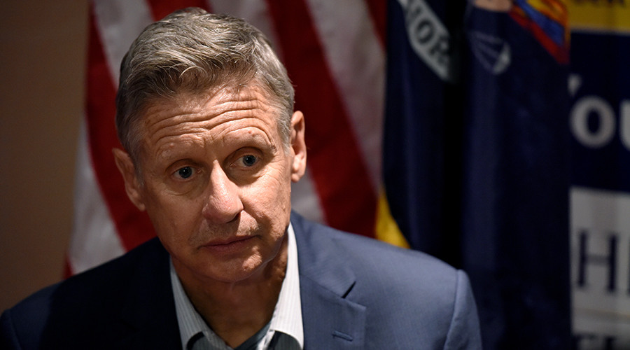 'Another Aleppo moment': Libertarian candidate Gary Johnson can't name foreign leader he admires