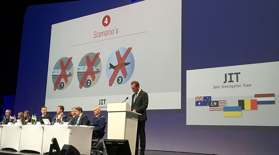 'Dutch-led team accepted secret US data on MH17 crash, rejected transparent Russian analysis'