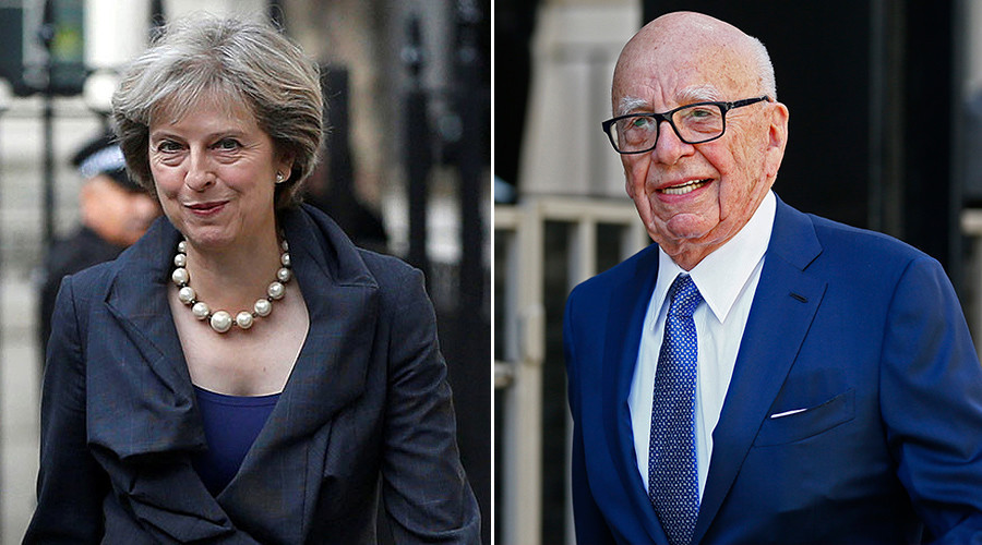 UK PM Theresa May met 'kingmaker' Rupert Murdoch on UN visit