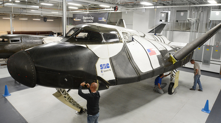 The UN will fly to space in a Dream Chaser spacecraft © Sierra Nevada Corporation
