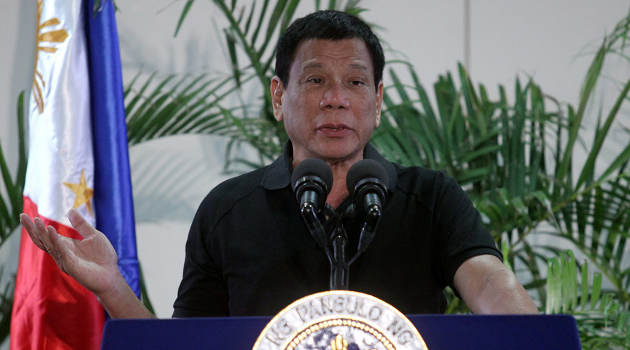 Duterte tells critics he'd be 'happy to slaughter' drug addicts like Hitler massacred Jews