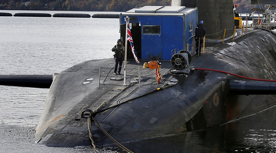 Trident nuclear submarine officers destroy Navy bar in drunken riot after 3 months at sea