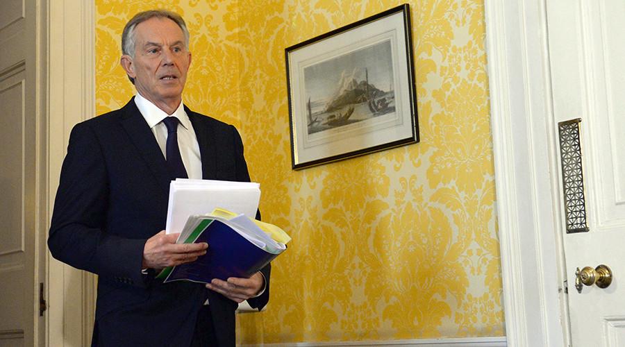 Former British Prime Minister, Tony Blair © Stefan Rousseau