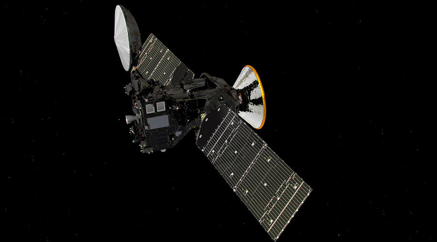 ExoMars en route to Mars. © ESA / ATG medialab
