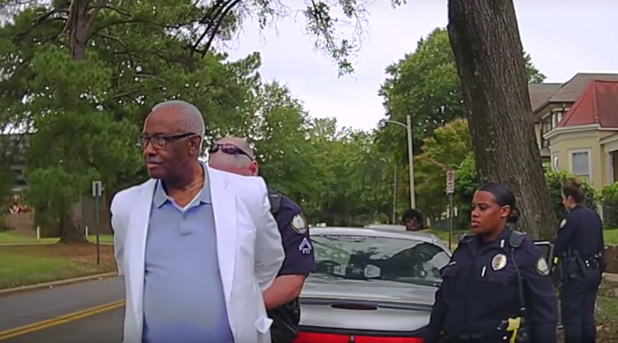 Arkansas State Rep. who pushed for law to film police, arrested for filming police (VIDEO)