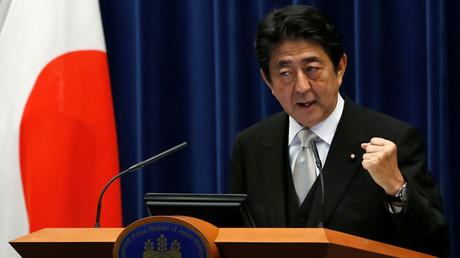 Japan's Prime Minister Shinzo Abe © Kim Kyung Hoon