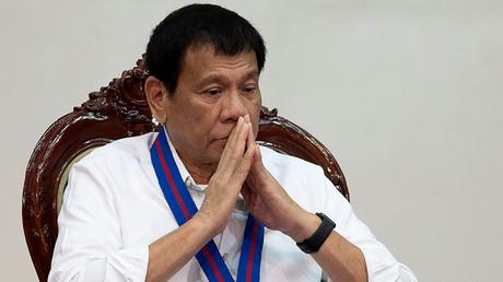Philippine President Rodrigo Duterte © Noel Celis