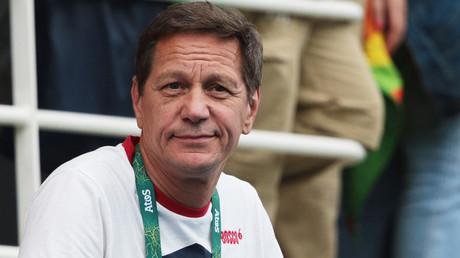 Aleksandr Zhukov, head of the Russian Olympic Committee © Maria Plotnikova
