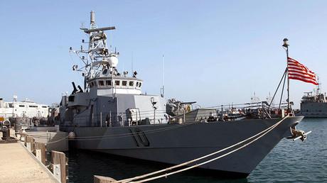 US Navy patrol boat USS Firebolt. ©US Navy
