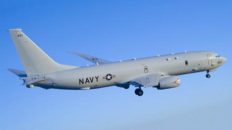 A U.S. Navy P-8 Poseidon aircraft © Wikipedia