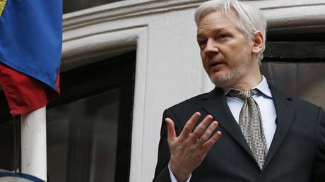 WikiLeaks founder Julian Assange © Peter Nicholls