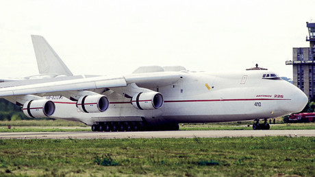 A heavy An-225 Mria transport plane © Dmitry Korobeinikov