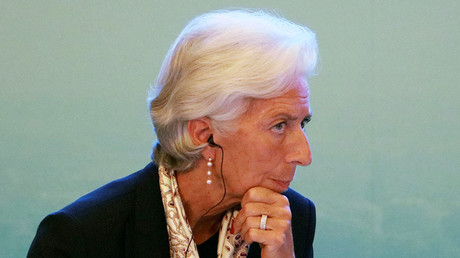 Christine Lagarde, Managing Director of the International Monetary Fund. © Ng Han Guan