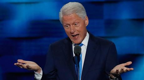 Former US President Bill Clinton © Mike Segar