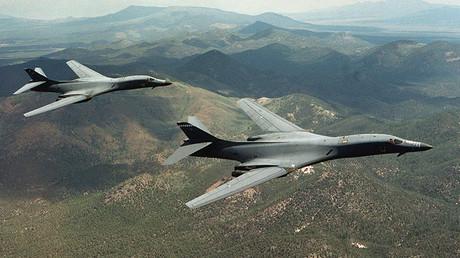 B-1B Lancer bombers © Steve Thurow