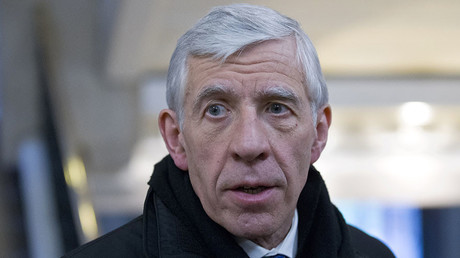 British member of parliament Jack Straw. © Justin Tallis