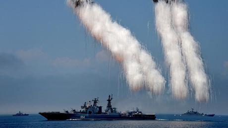 Admiral Tributs large antisubmarine ship © Vitaliy Ankov