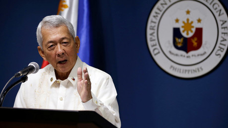 Philippines Foreign Affairs Secretary Perfecto Yasay © Erik De Castro