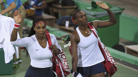 Serena and Venus Williams © Toby Melville