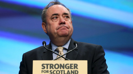 The Scottish National Party's (SNP) former leader Alex Salmond © Russell Cheyne