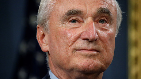 New York Police Commissioner William Bratton. © Carlo Allegri
