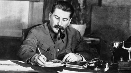 Joseph Stalin in his office © Sputnik