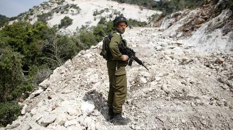 An Israeli soldier © Ronen Zvulun
