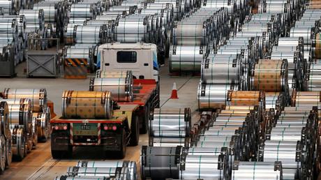 The China Steel Corporation factory, Kaohsiung, Taiwan © Tyrone Siu