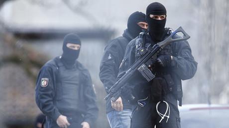 German special police forces SEK. ©Ralph Orlowski
