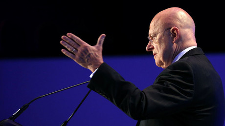U.S. Director of National Intelligence James Clapper © Kevin Lamarque