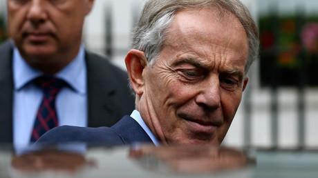 Former British Prime Minister Tony Blair © Neil Hal
