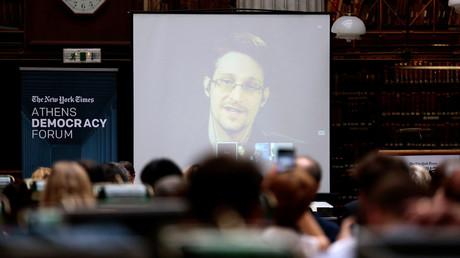 Edward Snowden © Alkis Konstantinidis