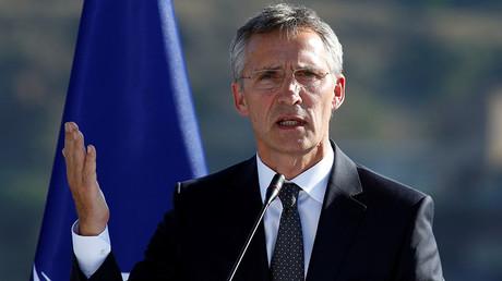 NATO Secretary-General Jens Stoltenberg © David Mdzinarishvili