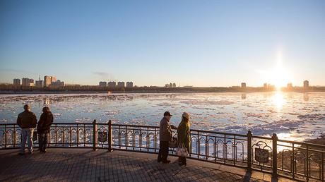 The Amursk River riverside in Blagoveshchensk © Igor Ageyenko
