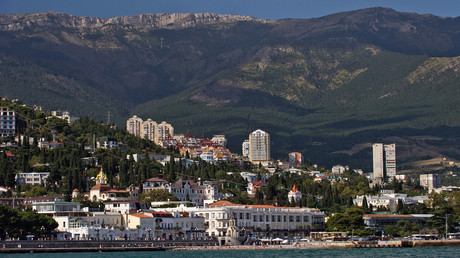 Yalta as seen from the Black Sea. Crimea, Russia.  © Sergey Malgavko