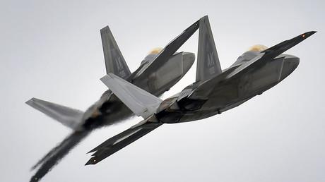 U.S. F-22 Raptor fighter jets  © Justin Connaher / U.S. Air Force