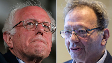 Democratic U.S. presidential candidate Bernie Sanders (L), Larry Sanders' the older brother. © Reuters